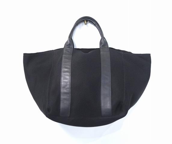 【中古】 LORINZA (ロリンザ) Tote Air Mesh エアメッシュトートバッグ 16SS BLACK ブラック BAG 鞄 カバン