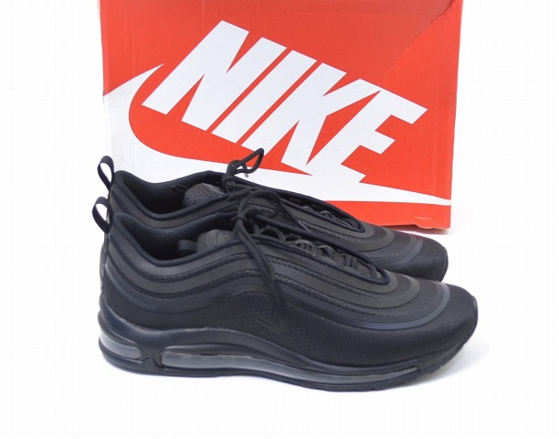 705f069c3531fc NIKE (Nike) AIR MAX 97 ULTRA  17 Air Max 97 ultra  17 US10.5 28.5cm TRIPLE  BLACK 2017 918