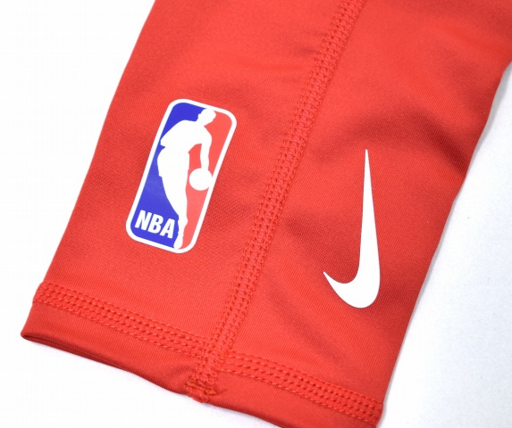 SUPREME X NIKE NBA Nike SHOOTER SLEEVES Shooter Sleeve L XL RED 17AW DRI FIT COMPRESSION SLEEVE Dry Fitting Compression