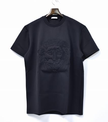 【新品】 DI MORABITO (ディ・モラビト) LION FACE TEE ライオンフェイスTシャツ XL BLACK 15SS 半袖