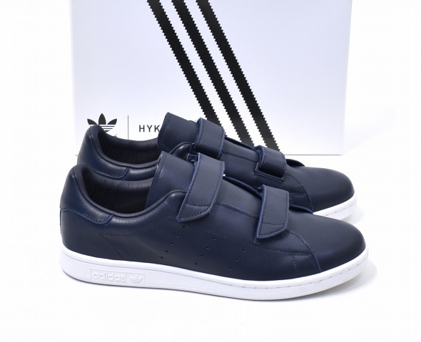 new arrival ea6c6 95df9 adidas Originals by HYKE (Adidas originals by hike) AOH005 FAST fast NAVY  US10.0 28.0cm navy STAN SMITH Stan Smith SNEAKERS sneakers nostalgic ...