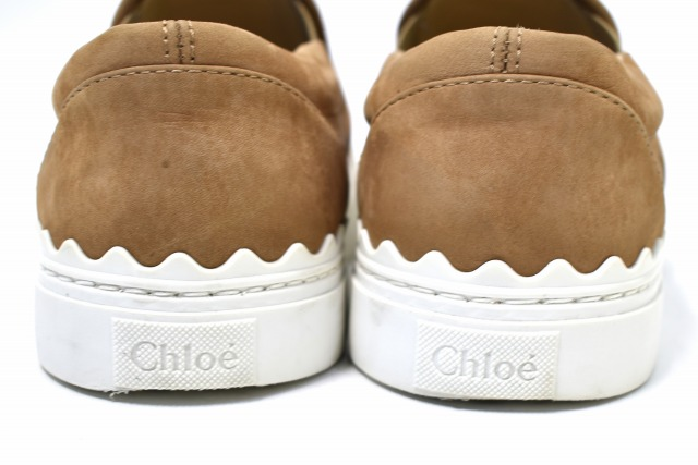 917dd468 Chloe (Kuroe) IVY SLIP-ON SNEAKERS slip-ons sneakers 36 DESERT ROSE 16SS  suede shoes shoes MADE IN ITALY