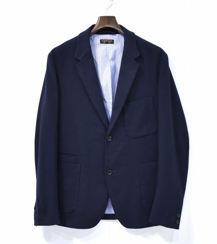 【中古】 A Vontade (ア ボンタージ) Lounge Jacket - T/R Stretch ラウンジジャケット M DK.NAVY 2B TAILORED JACKET 2ボタンテーラードジャケット
