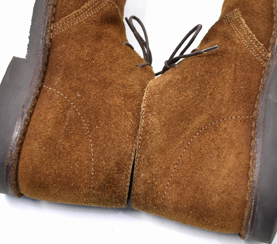 2cd1a081b882e BROOKS BROTHERS Peal   Co. (Brooks Brothers peel and company) SUEDE CHUKKA  BOOTS suede chukka boots 7D BROWN suede leather shoes suede cloth leather  shoes