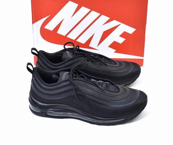 innovative design 3be35 f264a NIKE (Nike) AIR MAX 97 UL'17 Air Max 97 ultra 17 US10.5 28.5cm Triple Black  triple black 2017 918356 002 ULTRA SNEAKERS sneakers RUNNING SHOES running  ...