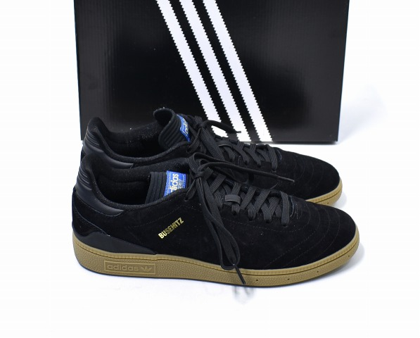 3511f4a2e65b adidas SKATEBOARDING (Adidas skateboarding) BUSENITZ RX ブセニッツ US7.5 25.5cm  BLACK black CQ1161 SUEDE SNEAKERS suede suede cloth sneakers SHOES ...