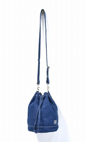 96205b4ce250 HEAD PORTER (head porter) DENIM BONSAC denim bonsack INDIGO Yoshida bag BAG  shoulder bag handbag bag bag 2WAY