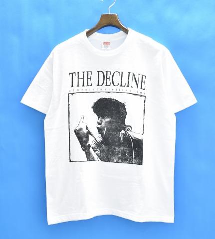 【中古】 SUPREME (シュプリーム) Decline of Western Civilization Tee ザ・デクラインTシャツ 17AW M WHITE ホワイト Crew Neck Print T-Shirts プリント S/S Short Sleeves ショートスリーブ 半袖 Logo ロゴ パンク ロック