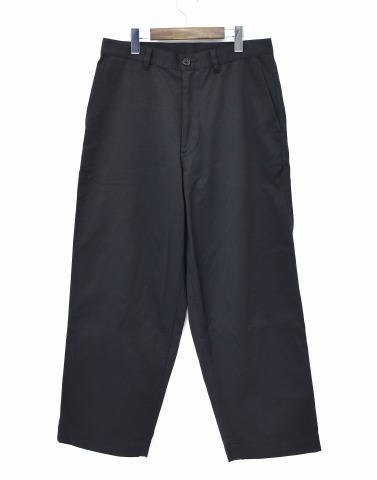 【中古】 Dickies (ディッキーズ) × FreshService (フレッシュサービス) Trousers トラウザーズ 18SS M BLACK ブラック FSW-18-PT-02 WORK PANTS ワークパンツ CHINO チノ T/C WIDE ワイドシルエット TAPERED テーパード STRETCH ストレッチ