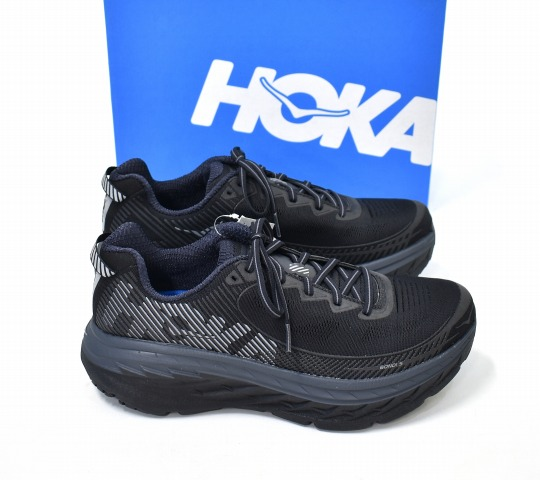 new style be03a 2efbe HOKA ONE ONE (ホカオネオネ) Bondi 5 Bonn die 5 US10 28cm BLACK 1014757 running  shoes sneakers shoes