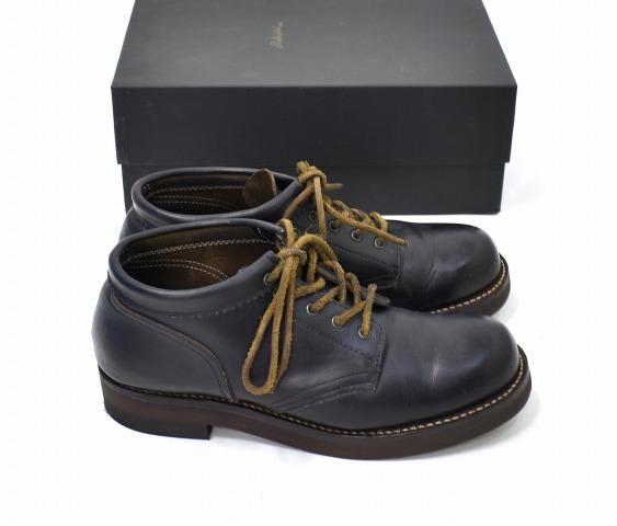 【中古】 ROLLING DUB TRIO (ローリングダブトリオ) COUPEN コペン US9 27.0cm OIL BLACK オイルブラック Mid Cut Work Boots ミッドカットワークブーツ Horween Chromexcel Leather Shoes ホーウィン クロムエクセルレザー シューズ 牛革 コッペン