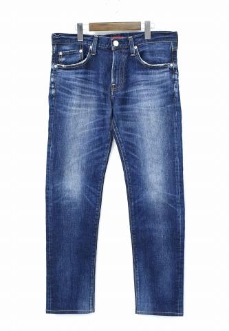 【中古】 RED CARD (レッドカード) × BEAMS (ビームス) 別注 Rhythm-Z (Stretch) リズム ストレッチデニムパンツ 31 Kita-vintage Dark ヴィンテージダーク Denim Pants Jeans ジーンズ