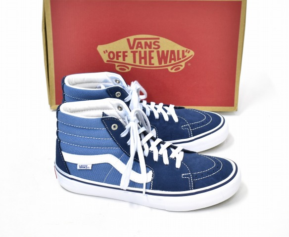 fb56df71fcd VANS (station wagons) SK8-HI PRO skating high professional US9.5 27.5cm  Navy Stv Navy navy VN0A347TNGJ SNEAKERS sneakers SKATEBOARD SHOES  skateboarding ...