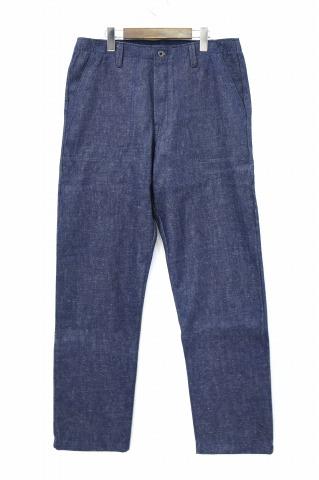 【新品】 evan kinori (エヴァンキノリ) LOFTMAN別注 Four Pocket Pant-Linen Denim- ロフトマン別注フォーポケットパンツ リネンデニム 34 INDIGO 18SS EXCLUSIVE エクスクルーシブ
