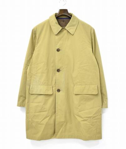 【中古】 nisica (ニシカ) ライナー付きコート 4 BEIGE ベージュ LINER SOUTEIN COLLAR COAT ステンカラー WEATHER CLOTH ウェザークロス 撥水加工