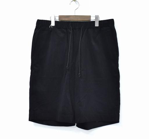 【新品】 HEALTH (ヘルス) Easy pants #6 イージーパンツ L BLACK 18SS HP18-062 CORDUROY SHORT コーデュロイショーツ ショートパンツ ハーフパンツ