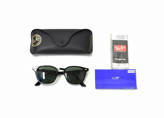 692dd04e40f Ray Ban (Ray-Ban) RB-4258F SUNGLASSES sunglasses 52 □ 20 BLACK X GRAY GREEN  601 71 glasses glasses Wellington Ray-Ban RayBan