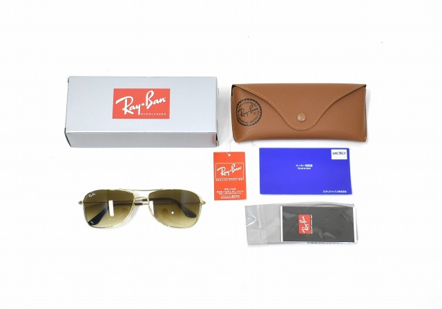 9d707f00a37 Ray Ban (Ray-Ban) 0RB3477 SUNGLASSES sunglasses 59 □ 16 SHINY GOLD X BROWN  GRADATION 0RB3477 001 51 59 glasses メガネアビエーターツーブリッジ Ray-Ban ...