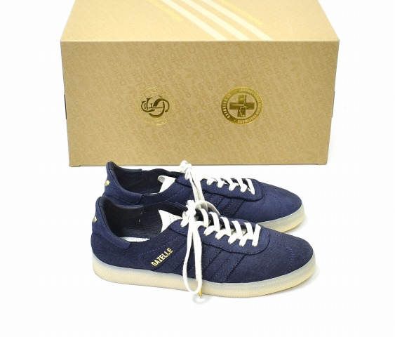 the best attitude 9c9e6 87a61 adidas Originals (Adidas originals) GAZELLE CRAFTED gazelle Clough Ted US7  25.0cm supplier color  running white  gold BW1250 ガッツレー SNEAKERS sneakers  ...