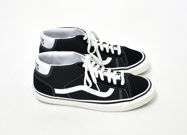 3940ca3330222b VANS (station wagons) MID SKOOL 37 DX mid school US10.5 28.5cm BLACK black  ANAHEIM FACTORY PACK Anaheim factory pack SNEAKERS sneakers SUEDE LEATHER  suede ...
