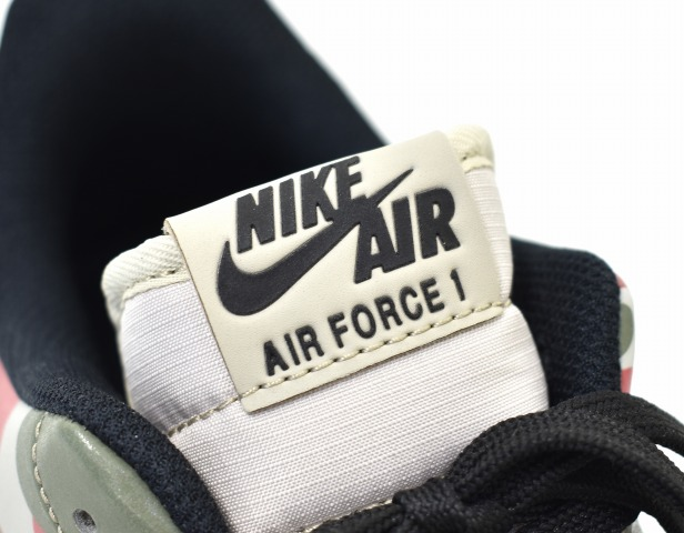 NIKE (Nike) AIR FORCE 1 '07 LV8 air force 1 US11 29cm STRINGBLACK WHITE GUM LIGHT BROWN 718,152 201 REFLECTIVE CAMO reflective duck duck hunting