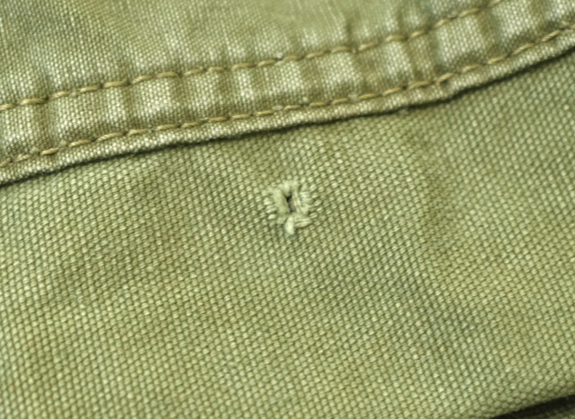 ink (ink) US Army Tent Riding Jacket
