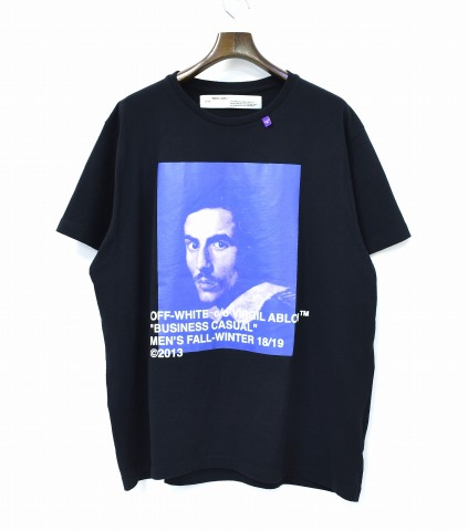 5902bec8 used select shop Greed: OFF-WHITE (off-white) BERNINI S/S OVER TEE ...
