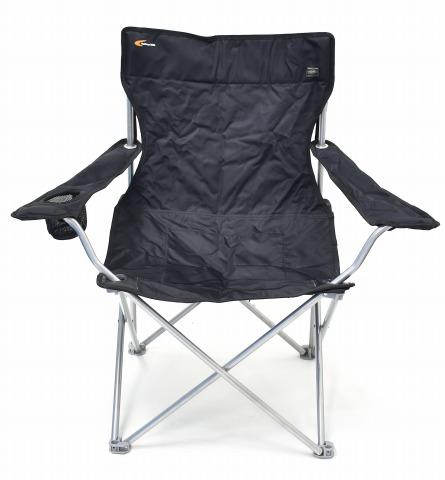 【中古】 Gallery 1950×PORTER (ギャラリー1950×ポーター) Folding Chair フォールディングチェアー BLACK イス 椅子 折り畳み