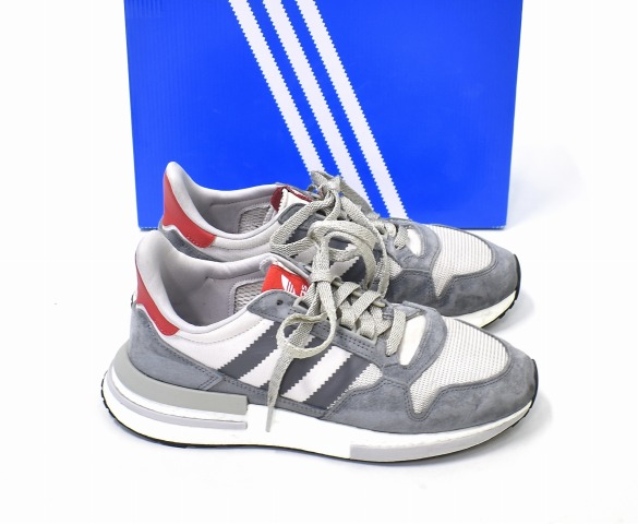 sale retailer 942c5 1e021 adidas Originals (Adidas originals) ZX 500 RM running shoes US8 26cm GREY  B42204 sneakers shoes