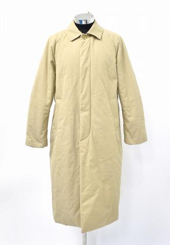 【中古】 YAECA (ヤエカ) STAINCOLLAR COAT LONG PADDING ステンカラーコート ロング パディング L KHAKI 18553 中綿 ロングコート