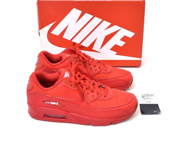 2d27d081b50a NIKE (Nike) AIR MAX 90 ESSENTIAL Air Max 90 essential US12 30cm UNIVERSITY  RED X WHITE 19SS AJ1285-602 running shoes sneakers shoes