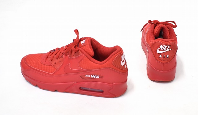new arrival 97ebc decbb NIKE (Nike) AIR MAX 90 ESSENTIAL Air Max 90 essential US12 30cm UNIVERSITY  RED X WHITE 19SS AJ1285-602 running shoes sneakers shoes