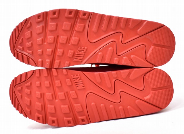 NIKE (Nike) AIR MAX 90 ESSENTIAL Air Max 90 essential US12 30cm UNIVERSITY RED X WHITE 19SS AJ1285 602 running shoes sneakers shoes