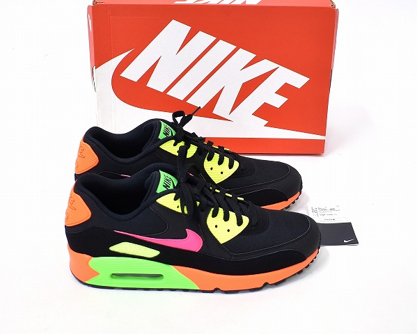 air max 90 orange fluo