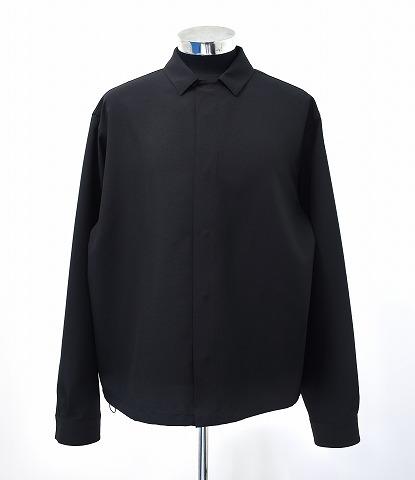 【中古】 OAMC (オーエーエムシー) SE OVER SHIRT オーバーシャツ L BLACK 19SS OAMO601031 SHIRTS JACKET シャツジャケット MADE IN ITALY イタリア製 Over All Master Cloth