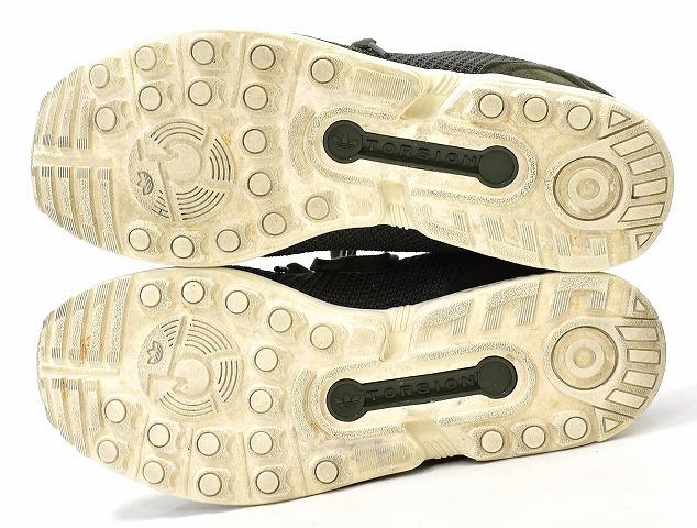 adidas Originals (Adidas originals) ZX FLUX Z X flux US8.5 26.5cm NIGHT CARGOJUNGLE INKCHALK WHITE AF6312 sneakers shoes