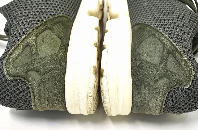 best service 36b39 94182 adidas Originals (Adidas originals) ZX FLUX Z X flux US8.5 26.5cm NIGHT  CARGO/JUNGLE INK/CHALK WHITE AF6312 sneakers shoes