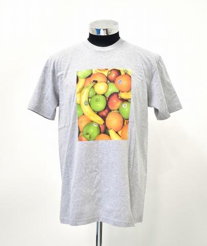 【新品】 SUPREME (シュプリーム) Fruit Tee フルーツTシャツ M HEATHER GREY 19SS 半袖 プリント T-SHIRT MADE IN USA アメリカ製
