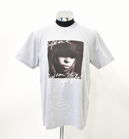 【新品】 SUPREME (シュプリーム) Mary J. Blige Tee メアリー J. ブライジTシャツ M HEATHER GREY 19AW 半袖 プリント T-SHIRT MADE IN USA アメリカ製
