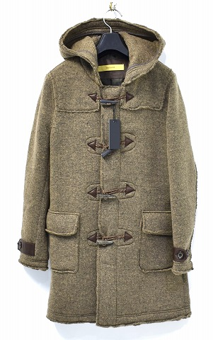 【新品】 BACKBONE (バックボーン)WOOL SLIVER KNIT DUFFLE COAT ウールスライバーダッフルコート BACK BONE BB16FW-CO15-CAMEL MADE IN JAPAN M