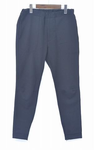 【新品】bukht (ブフト) SWEAT PANTS スウェットパンツ 15AW SOLID BLACK 0(S)