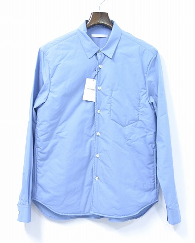 【新品】 DISCOVERED (ディスカバード) LONG SHIRT ロングシャツ 長袖シャツ L/S DC-AW16-SH06 2 A.BLUE