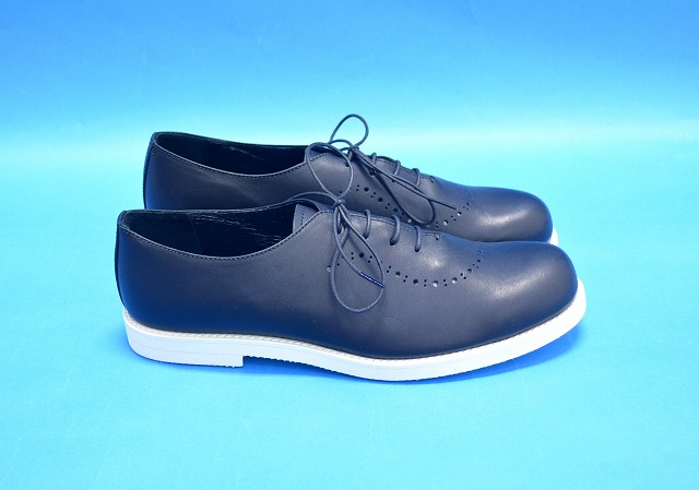 【新品】 ARCOLLETTA PADRONE(アルコレッタパドローネ) BALMORAL SHOES/ BYRON バルモラルシューズ レザーシューズ 革靴 BLACK 42 MADE IN JAPAN