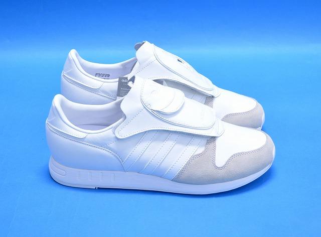 【新品】adidas Originals by HYKE (アディダス オリジナルス バイ ハイク) AOH006 AOH-006 MICROPACER マイクロペーサー WHITE US10.5 28.5cm ホワイト レザースニーカー SNEAKERS スニーカー レトロ  S79349 LO
