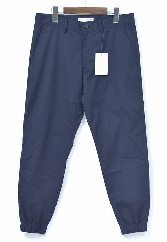 【新品】Mr. GENTLEMAN (ミスタージェントルマン) RIB PANT リブパンツ 16SS NAVY MGI-TR01 CROPPED PANTS クロップドパンツ 9分丈パンツ S