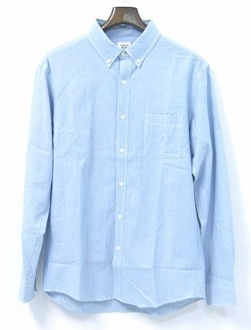 【新品】 Mr.GENTLEMAN (ミスタージェントルマン) DUNGAREE L/S SHIRTS ダンガリーシャツ 長袖シャンブレーシャツ ボタンダウンシャツ B.D SHIRT 15SS-SH05 ICE BLUE L