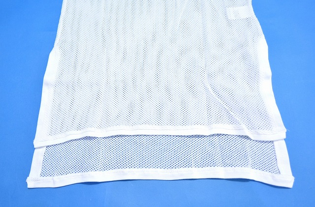 【新品】 bukht (ブフト) MESH LONG TANK TOP メッシュタンクトップ TANKTOP B-52104 WHITE FREE