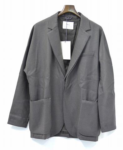 【新品】 salvy; (サヴィー) FINE WOOL DOUBLE CLOTH DOLMAN JACKET ファインウールダブルクロスドルマンジャケット 3 MOCHA ドルマンスリーブテーラードジャケット MADE IN JAPAN SV02-1716C-UM66