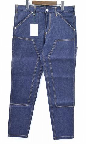【新品】 Mr. GENTLEMAN (ミスタージェントルマン) DENIM PAINTER PANTS デニムペインターパンツ RIGID MGJ-DE02 34 ジーンズ jeans MADE IN JAPAN