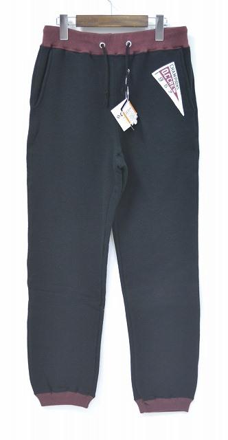 【新品】 O.C Crew (オーシークルー) 2TONE SWEAT PANTS ツートンスウェットパンツ BLACK 2トーン S